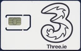 IRELAND - IRLANDE - IRLAND - IRLANDA GSM (SIM) CARD THREE.IE MINT UNUSED - Ireland