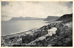 False Bay From Boyes Drive Cape Town South Africa - South Africa