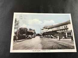 7 - MALBUISSON L'Hotel Du Lac - 1935 Timbrée - France
