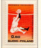 PIA - FINLANDIA - 1970 : Sport Degli Invalidi E 30° Dell'Unione Invalidi Civili E Di Guerra  - (Yv 642) - Neufs