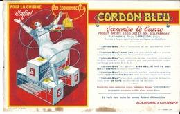 """Buvard Publicitaire -""""Cordon Bleu"""" - Alimentaire"""