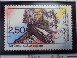 """1990-99   Timbre  Oblitéré N°   2700   """"    La Tour D Auvergne   """"    0.80 - Oblitérés"""