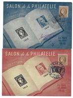 France, Carte Maximum, Salon De La Philatélie, 1946 ( 25 Mai Au 10 Juin 1946 ) - Cartoline Maximum