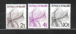 Z845 - MALAWI 1982 , Segnatasse Serie 16/18 ***  MNH - Malawi (1964-...)