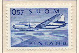 PIA - FINLANDIA - 1970 : Posta Aerea - Aereo Convair CV 440  - (Yv P.A. 12) - Neufs