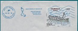 """St.Pierre Et Miquelon 2017   YT N° 1189 """"TERNUA 2017 """" Traînière Basque  Oblitéré NEOPOST 05-2019. - St.Pierre & Miquelon"""
