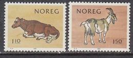 Norway 1981 - Lacteous Products Association Centenary, Mi-Nr. 834/35, MNH** - Norvège