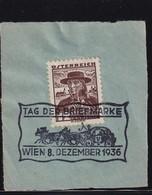 Austria 1936, Special Cancel On Piece - 1918-1945 1a Repubblica
