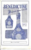 Buvard Publicitaire - Liqueur Bénédictine - Liquor & Beer