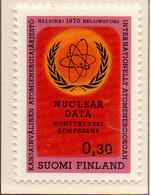 PIA - FINLANDIA - 1970 : Conferenza Dell' Agenzia Internazionale Dell' Energia Atomica  - (Yv  642) - Neufs