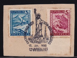 Austria 1946, Special Cancel On Piece - 1945-.... 2a Repubblica