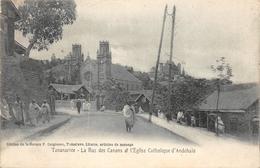Tananarive - La Rue Des Canons Et L'Eglise Catholique D'Andohalo Madagascar - Madagascar