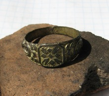 Ancient Bronze Ring 18-19 Century - Archaeology