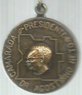 Angola, Dr. Agostinho Neto Camarada Presidente, Ae. Dorato Gr. 24, Cm. 4. - Gettoni E Medaglie