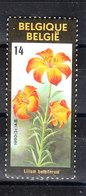 Belgio  - 1990. Lilium - Flora