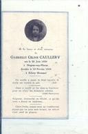 SOMME - 80 - ALLERY - NOGENT SUR MARNE - Carte Mortuaire - Gabrielle Caullery 1930 - Véritable Photo - France