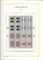 1983 MNH UNO New York,  Set Of 4 Sheets, Postfris** - New York - Hoofdkwartier Van De VN