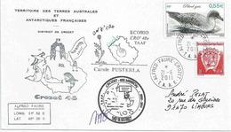 YT 532 - Petrel Gris - Alfred Faure - Crozet - 21/06/2011 - Terres Australes Et Antarctiques Françaises (TAAF)