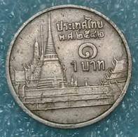Thailand 1 Baht, 2542 (1999) -1492 - Thailand
