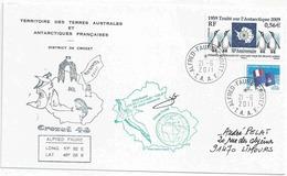 YT 551 - Traité Sur L'Antarctique - Manchots - Alfred Faure - Crozet - 21/06/2011 - Gérant Postal - Terres Australes Et Antarctiques Françaises (TAAF)