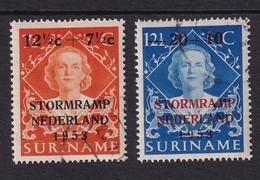 Dutch Surinam 1953, Overprint Complete Set, Cv 7 Euro - Suriname ... - 1975