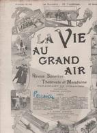 LA VIE AU GRAND AIR 26 11 1899 - CORDOUE TORERO GUERRITA RAFAËL GUERRA - CYCLES ANCIENS - SAHARA EXPLORATRICE POMMEROL - Books, Magazines, Comics