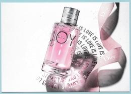 CARTE POSTALE JOY AVEC TIMBRE AU VERSO - VOIR PHOTOS - Cartes Parfumées