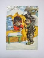 Hedgehogs Pipe - Fairy Tales, Popular Stories & Legends