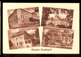 HUNGARY - Udvozlet Keszthelyrol / Postcard Circulated, 2 Scans - Hungary