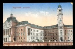 HUNGARY - Nagyvarad Varoshaza / Postcard Circulated, 2 Scans - Hungary