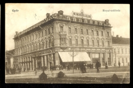 HUNGARY - Gyor Royal-szalloda / Postcard Circulated, 2 Scans - Hungary