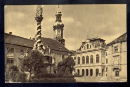 HUNGARY - Sopron Beloiannisz-ter / Visible Traces Of Bending / Postcard Circulated, 2 Scans - Hungary