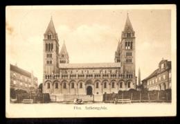 HUNGARY - Pecs Szekesegyhaz / Postcard Circulated, 2 Scans - Hungary