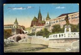 HUNGARY - Budapest Fischerbastei / Postcard Circulated, 2 Scans - Hungary