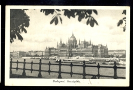HUNGARY - Budapest Orszaghaz / Postcard Circulated, 2 Scans - Hungary
