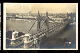 HUNGARY - Budapest Elisabeth Bridge / Postcard Circulated, 2 Scans - Hungary