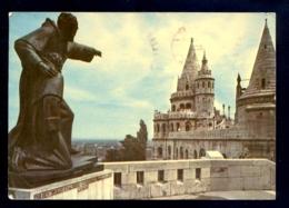 HUNGARY - Budapest Halaszbastya / Postcard Circulated, 2 Scans - Hungary