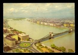 HUNGARY - Budapest Latkep Ansicht Von Budapest / Postcard Circulated, 2 Scans - Hungary