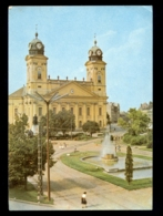 HUNGARY - Debrecen Kossuth Ter / Postcard Circulated, 2 Scans - Hungary