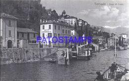 112711 ITALY TORRIGLIA LAFO DI COMO VIEW PARTIAL POSTAL POSTCARD - Sin Clasificación