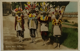 South Africa // Durban // Hand Colored Rickska Boys 1 19?? - Zuid-Afrika