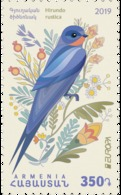 Armenia Arménie Armenien 2019 International. Europa Europe National Birds Hirundo Rustica MNH** - Armenia