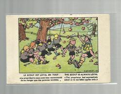 **  Le Scout Est Loyal En Tout / The Scout Is Always Loyal        **--Illustrateur: G. DELANCRE - Scouting