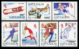 Vietnam 1991  YT 1237-43 ; Mi# 2352-58  (*) MNG - Vietnam