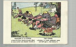**  Traction à La  Corde / Tug O'war        **--Illustrateur: G. DELANCRE - Scoutisme