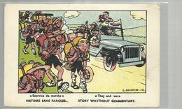 **  Histoire Sans Paroles / Story Without Commentary       **--Illustrateur: G. DELANCRE - Scoutisme