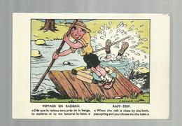 **  Voyage  En  Radeau / Raft-trip       **--Illustrateur: G. DELANCRE - Scoutisme