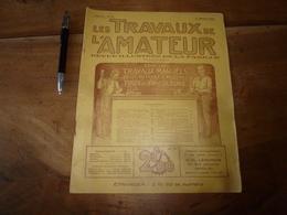 1924 LES TRAVAUX DE L'AMATEUR:Faire (Tobogan,Mongolfière,Verni Au Tampon,Tue-insectes électrique,Etamage, TSF) ; Etc - Do-it-yourself / Technical
