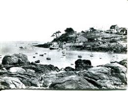 N°72907 GF-cpsm îles Chausey -l'embarcadère Et L'hôtel- - Autres Communes