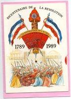 BICENTENAIRE DE LA REVOLUTION FRANCAISE 1789 1989 TBE Systeme Disque Histoire N° 2 Carte Vierge TBE - History